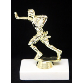 Flag Football Figure on Marble